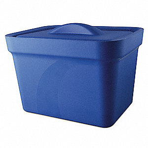Ice Pan with Lid,Blue,4L