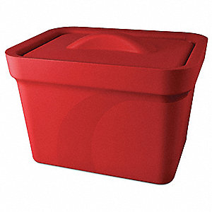 Ice Pan with Lid,Red,,4L