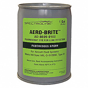 Dye Aviation Oil,Green,Gallon