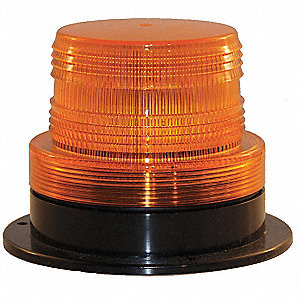 Warning Strobe,12-90V DC,4 Watt,Amber