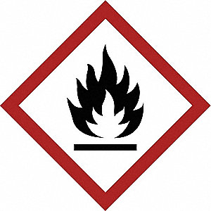 Label,GHS Flammable,Vinyl,39/Sheet