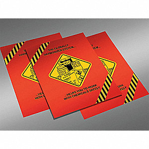 "Safety Awareness Poster, English, 24"" x 18"", 1 EA"