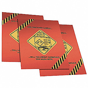 Safety Poster,28 x 15In,Laminated Ppr