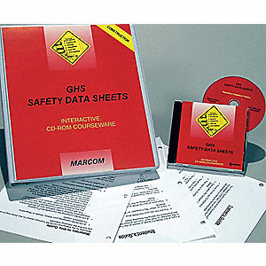 GHS SDS Construction,CD-ROM,Spanish