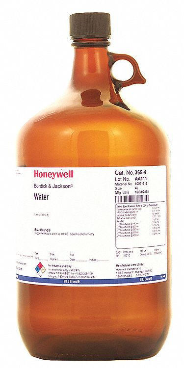 Honeywell Burdick Amp Jackson Water 7732 18 5 Cas Number