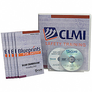 Safety Training Program Kit,GHS,DVD