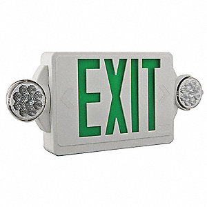 FIDO Combo Exit Unit,LED,Green