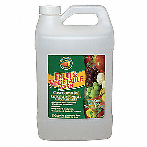 Fruit & Vegetable Wash,1 gal.