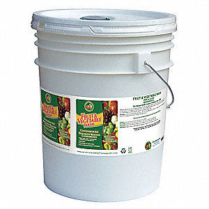 Fruit & Vegetable Wash,5 gal.