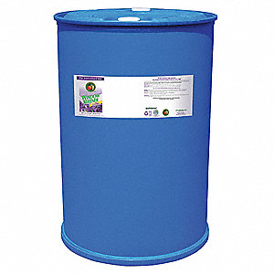 Glass Cleaner,55 gal.,Lavender,Clear
