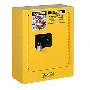 Mobile Mini Safety Cabinet, 22x17x8