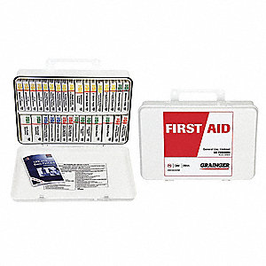 First Aid Kit,Unitized,211Pcs,40 Ppl