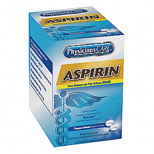 Aspirin,Tablet,325mg,PK125