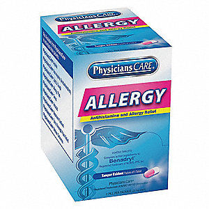 Allergy Relief,Tablet,25mg,PK50