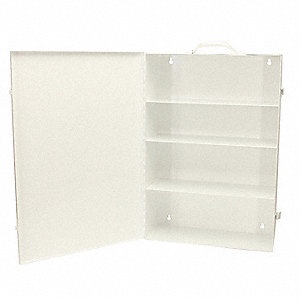 Empty First Aid Cabinet,Portable,Steel