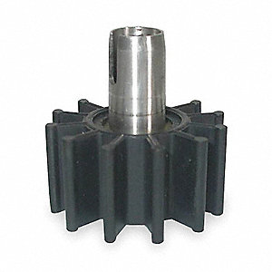 Nitrile Replacement Impeller/Sleeve Assembly for 3ABZ5