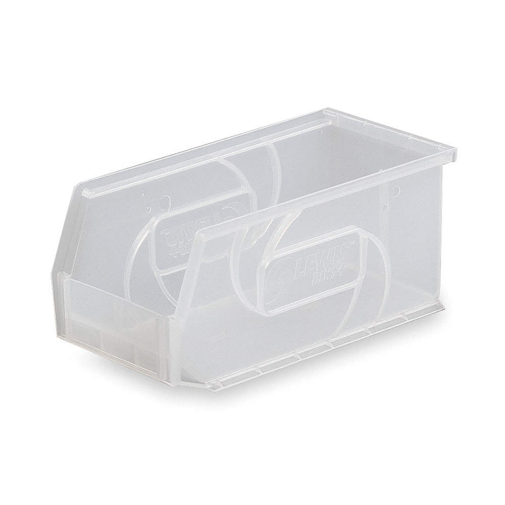 Lewisbins PB105-5 Clear Hang and Stack Bin, 10-7/8 In L, Clear at Sears.com