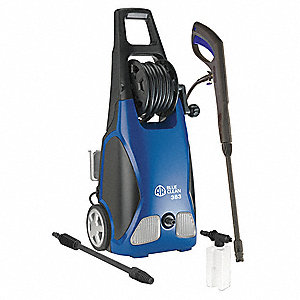 Pressure Washer, 1.8 HP, Cold Water Type, 1900 psi Operating Pressure, 1.5 gpm Flow Rate