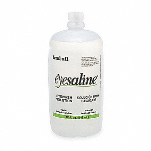 32 oz. Replacement Eye Wash Bottle, For Use With MFR. NO 320004610000, 320004620000