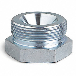 Ground Joint Coupling Spud,1 In,450 F