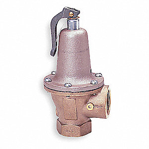 Iron Safety Relief Valve, FNPT Inlet Type, FNPT Outlet Type
