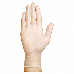 Condor Vinyl Disposable Gloves, Powder Free, 4 mil