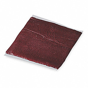 Fire Barrier Putty Pad,9x9 In.,Red