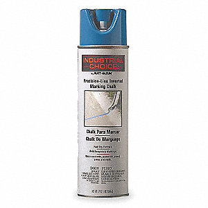 Blue Inverted Marking Chalk, Water Base Type, 17 oz.