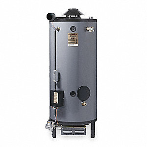 Commercial Gas Water Heater, 76 gal. Tank Capacity, Natural Gas, 180,000 BtuH