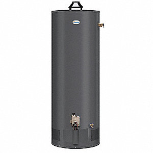 Residential Gas Water Heater, 50 gal. Tank Capacity, Natural Gas, 38,000 BtuH