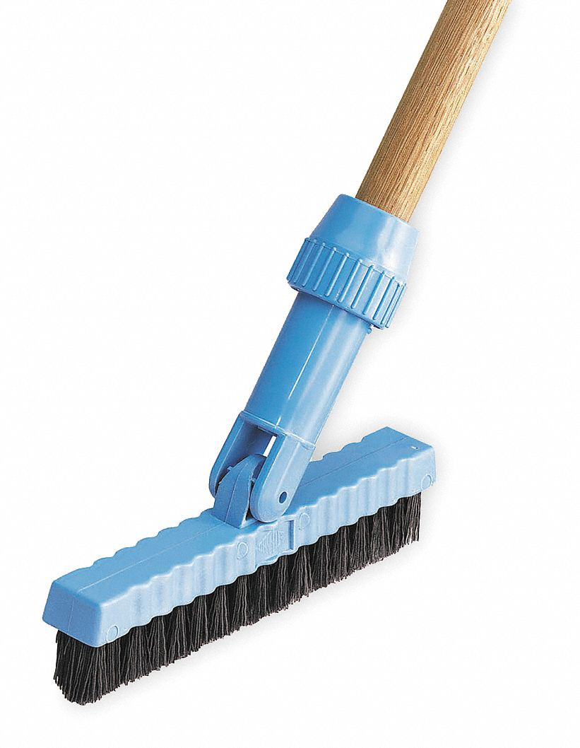 Tough Guy Nylon Swivel Tile And Grout Brush Overall