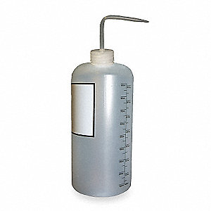 Wash Bottle,32 oz.,Natural,Polypropylene