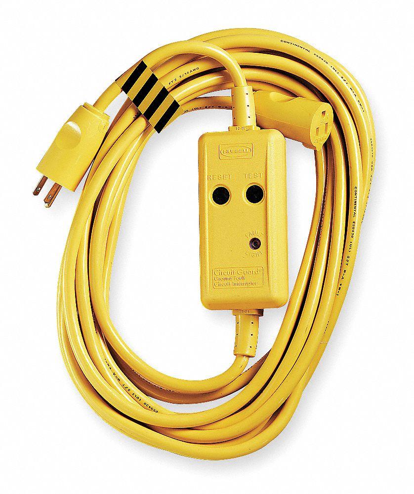 hubbell wiring device-kellems line cord gfci, 120vac ... 120vac plug wiring electrical plug to plug wiring