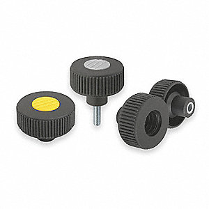 Knurled Wheel,M8,Ext,1.18,2.6,1.99