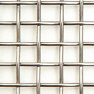Wire Cloth,304,2 Mesh,0.0630 dia.,24x24