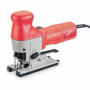 4-Position Orbital Jigsaw, 500 to 3000 Strokes per Minute, 6.2 Amps, Dial Speed Control