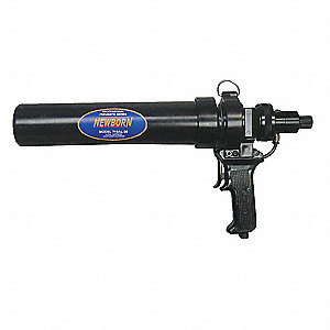 Pneumatic Caulk Gun, 29 oz., Aluminum