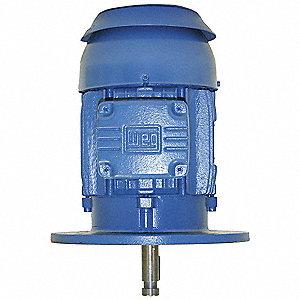 Weg Pump Motor 1 Hp 1765 Rpm 230 460 V 3eae6