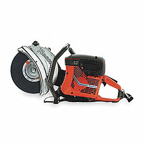 Rescue Saw,2-Cycle Gasoline,Wet/Dry Cut