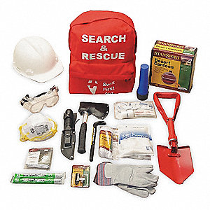 Search and Rescue Kit, Size:  Universal, Number of Components: 21