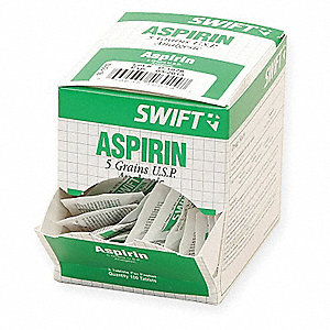 Aspirin,Tablet,325mg,PK100