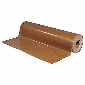 "Waxed Kraft Paper, 30 lb. Basis Weight, 1470 ft. Length, 24"" Width, Kraft Color"