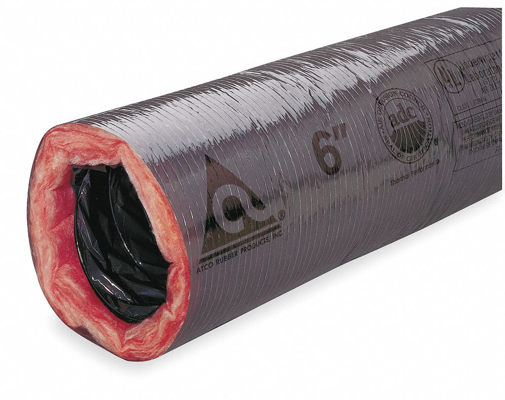 Atco Insulated Flexible Duct R 4 2 4 Quot Flexible Duct