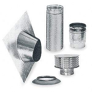 Gas Vent Pipe Kits