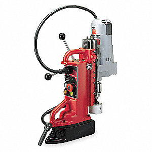 Magnetic Drill Press,350RPM,3/4 In Steel