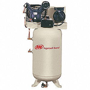 10 HP,  120 gal. Vertical Electric Air Compressor, CFM: 35