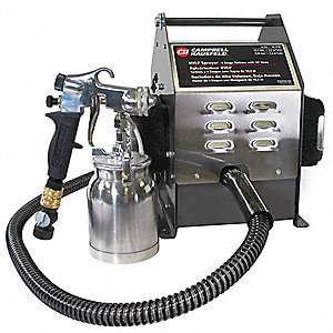 HVLP Paint Sprayer,4 Stage,1 qt.