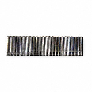 Steel Collated Brad Nail, Galvanized Finish