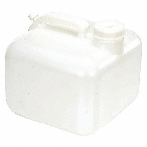 Carboy,2.5 Gal,HDPE,w/Handle and Cap