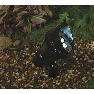 360 Lumens LED Accent Light, Black